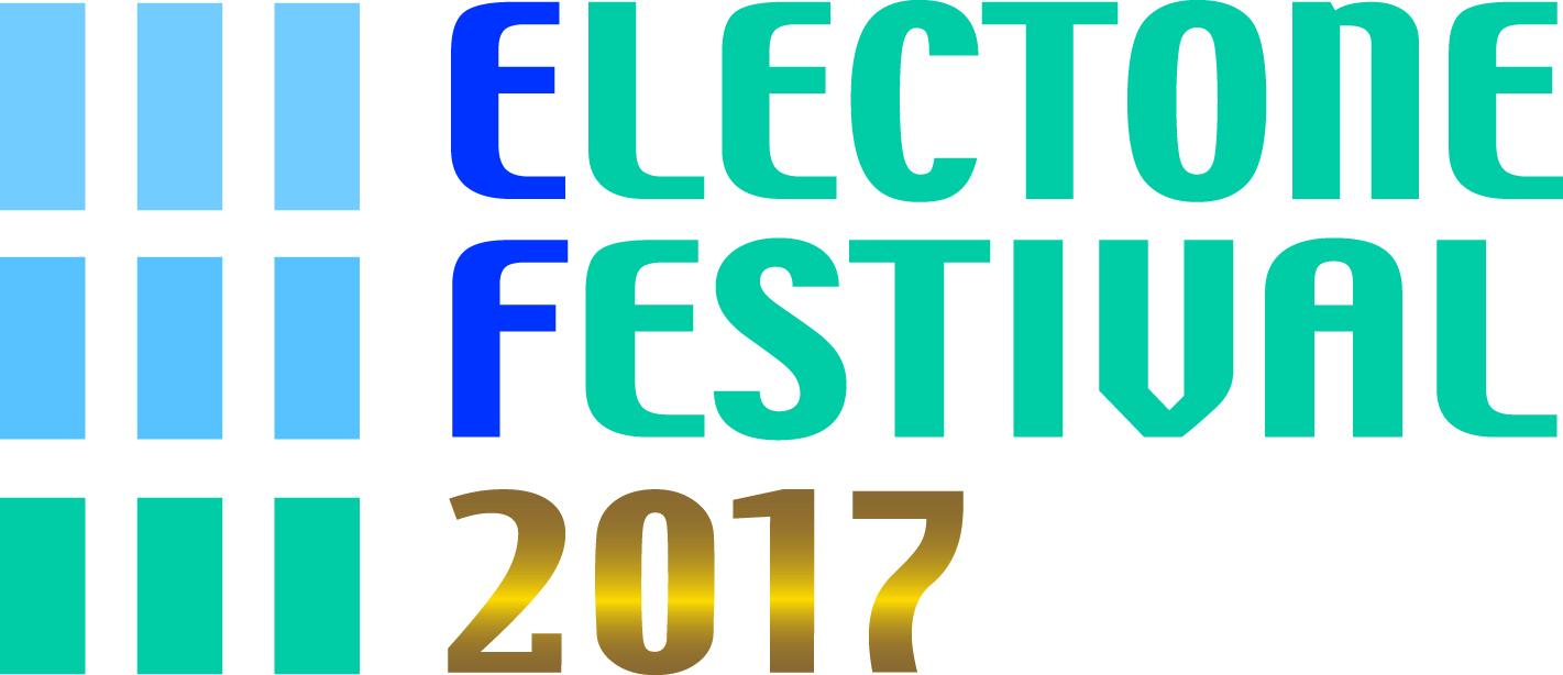 ELECTONE FESTIVALロゴ2017